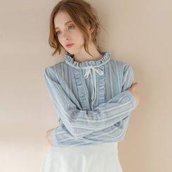 Tokyo Fashion - Ruffled Blouse