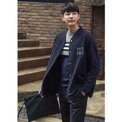 GERIO - Appliqué Snap-Button Jacket