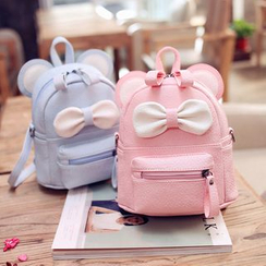 Merlain - Mouse Ear Bow Mini Backpack