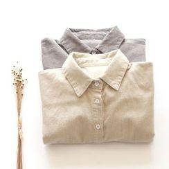 布丁坊 - 燈芯絨襯衫