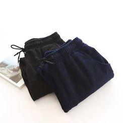 Bonbon - Drawstring Harem Pants