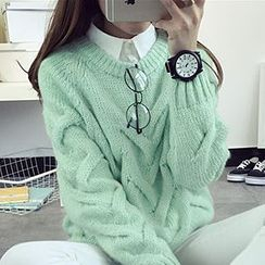 FR - Cable Knit Sweater