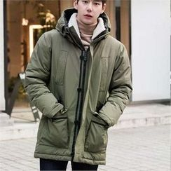STYLEMAN - Hoodie Padded Fleece-Lined Jacket