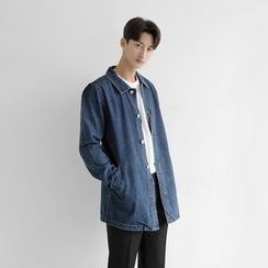 Seoul Homme - Washed Denim Coat