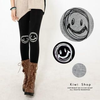 Kiwi Shop - 'SMILE' Print Leggings