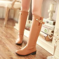 Pretty in Boots - Fleece-Lined Tall Boots