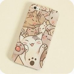Joyroom - Cat-Print iPhone 4/4s/5/5s Case