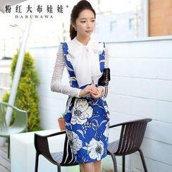 Dabuwawa - Floral Jumper Skirt