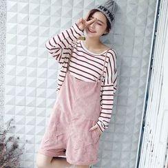 Tokyo Fashion - Corduroy Jumper Shorts