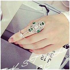 Nanazi Jewelry - Rhinestone Ring