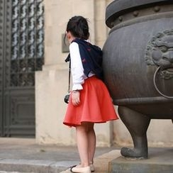 Wind Town - Kids A-Line Skirt