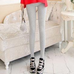 Jenny's Couture - Fleece-lined Stirrup Leggings