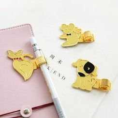 Cute Essentials - Metal Clip with Pen Holder