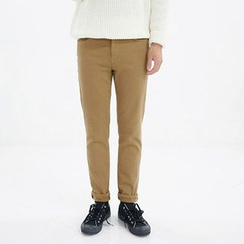 Seoul Homme - Brushed-Fleece Lined Cargo Pants