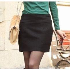 Beansprout - Plain Knit Skirt