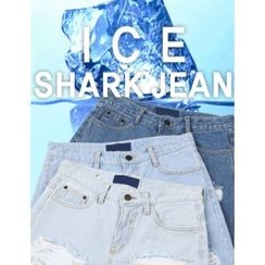 STYLEMAN - Distressed Denim Shorts