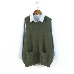 Ranche - Plain Knit Vest