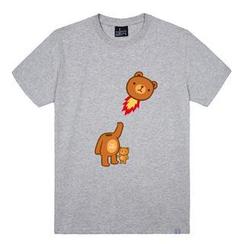 the shirts - Bear Print T-Shirt