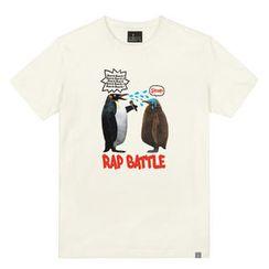 the shirts - Rap Battle Print T-Shirt