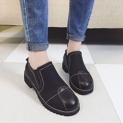 Wello - 拼接便鞋