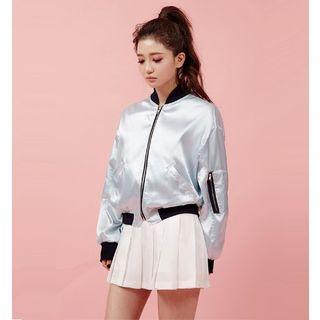 Buy Chuu Pleated Mini Skirt Yesstyle