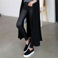CHICFOX - Faux-Leather Skinny Pants