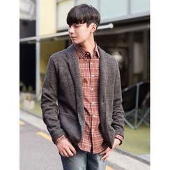 STYLEMAN - Fleece-Lined Knit Jacket
