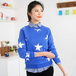 59 Seconds - Star Print Pullover