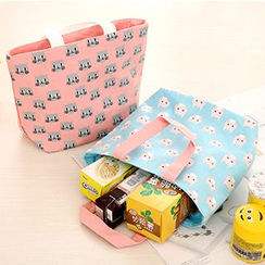 Show Home - Cat Printed Insulated Lunch Bag
