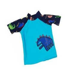 Aqua Wave - Kids Animal Print Rashguard