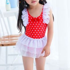 BOIE - Kids Dotted Swimdress