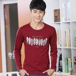 INSO - Printed Long Sleeve T-Shirt