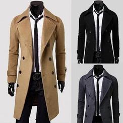 百高 - 雙排扣大衣
