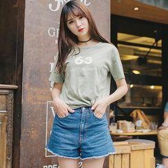 微米家 - 印花短袖T恤