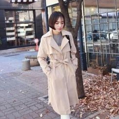midnightCOCO - Flap Trench Coat