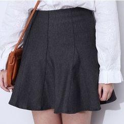 森之誠品 - 荷葉邊短裙
