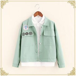 Fairyland - Patch Embroidered Jacket