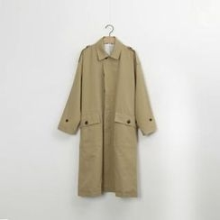 PIPPIN - Fly-Front Trench Coat