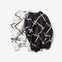 Alvicio - Patterned Sweatshirt