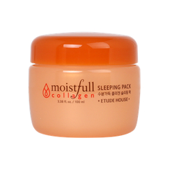 Etude House 伊蒂之屋 - Moistfull Collagen Sleeping Pack 100ml