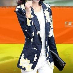 Donnae - 碎花西装外套