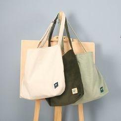 Ms Bean - Corduroy Tote Bag