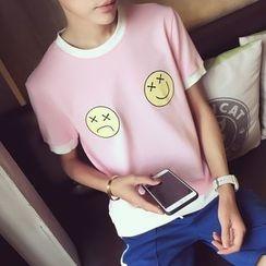 JVR - Short-Sleeve Printed T-Shirt