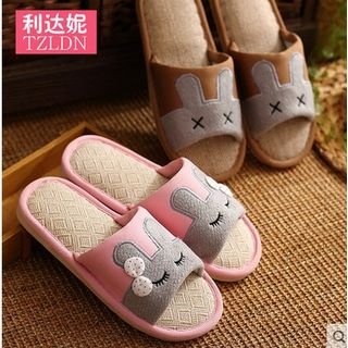 Rivari - Couple's Matching Rabbit Slippers