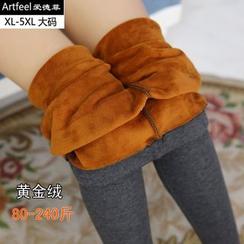 Artfeel - 刷毛裡內搭褲