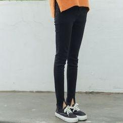 HotBlock - Slit Skinny Jeans