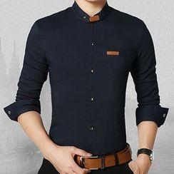和文 - 长袖衬衫