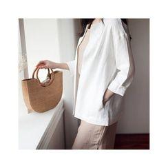 MASoeur - Open-Front Linen Jacket