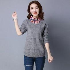 Romantica - Long-Sleeve Knit Top