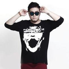 GARBO - Long-Sleeve Printed T-Shirt